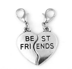 Top Quality Gold Silver And Rose Gold Plated Best Friend Letter