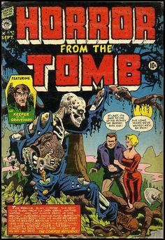 Horror Comics | Fantasy Ink: Pre-Code Horror Comics