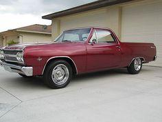 Chevrolet : El Camino . 1965 El Camino, 350, A/C, - http://www.legendaryfinds.com/chevrolet-el-camino-1965-el-camino-350-ac/