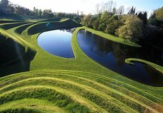 Image: The Garden of Cosmic Speculation, designed by architecture critic Charles Jencks, is a stunning garden at Portrack House in Scotland....