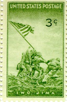 stamps | when the public first demanded a stamp commemorating the flag raising ...