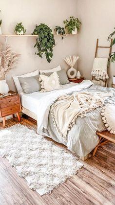 Room Design Bedroom, Room Ideas Bedroom, Home Decor Bedroom, Bedroom Inspo, Bedroom Inspiration, Dream Bedroom, Cozy Room, Aesthetic Bedroom, My New Room