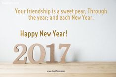Friendship New Year Quote 2017