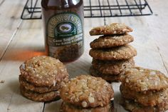 Coconut Oatmeal Anzac Cookies (Biscuits) | First Time Foods