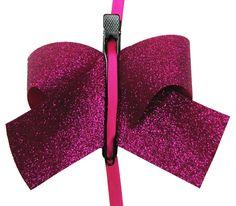 Tutorial--Sparkle Hair Bow Clips