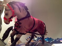 Schleich fly sheet - model horse tack by Malena Landon.