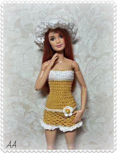Вязаная одежда для кукол/Описания, схемы/Продажа