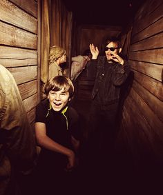 I want I go through a haunted house with Norman hahaha why do I feel like he would be screaming?