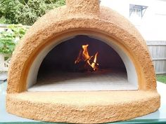 YouTube. Pizza oven full build from Australia. Good molding and casting form ideas. Uses crushed pumice stone. I don't know how expensive that is in the US. And I don't know if it's healthy to cook right on hot cement....? I would make a hybrid of the typical American oven using clay and fire bricks, but add some vermiculite to the mix, and definitely use his molding and casting techniques. Oh, except for the ball. A wet sand mound seems much easier to me.