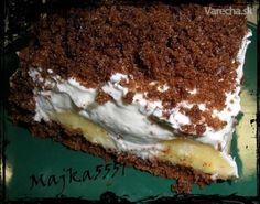 Už dlho som hľadala nejaký ten slušný recept na tento koláčik aj sa podarilo s malým vylepšením a chutil najviac :-D