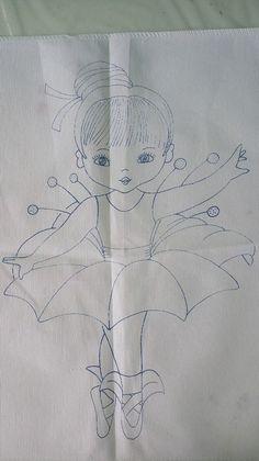 niña flor campana