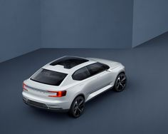 Volvos 40.2 Concept has the sedan style in a future way.Coming soon.,Volvos future 2.