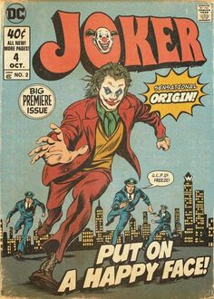 """"""" goes retro in awesome comic cover-styled poster by IG artist dvglzv Posters Vintage, Vintage Cartoons, Vintage Comics, Vintage Design Poster, Retro Wallpaper, Cartoon Wallpaper, Dark Wallpaper, Iphone Wallpaper, Comic Del Joker"""