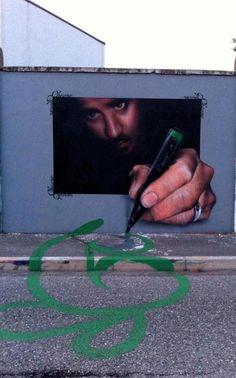 art- in- street:    street art!!!