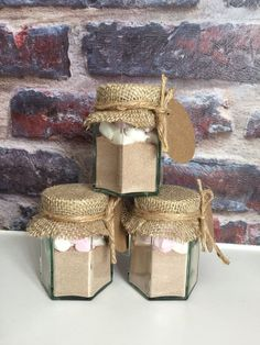 Hot chocolate & marshmallow wedding favors  by RomanceandRust