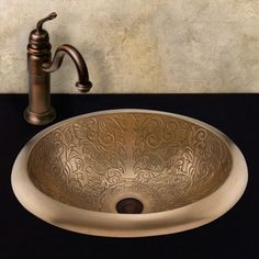 Adela Bronze Drop-In Sink