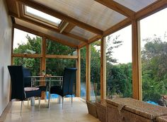Replacement conservatory - garden room with light and airy interior  -   CGGW - Engineering Consultants, Surveyors & Architectural Design   Replacement conservatory