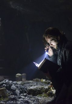 "Ichabod Crane looking for clues to his extended life.""Sleepy Hollow"" Season 1 Premiere 2013 Pilot"