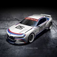 BMW 3.0 CSL Hommage by Jonsibal