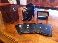 Alte Fotoapparate, Kameras und Fotos sammeln für Sammler: Zwei alte Kameras - Wert?