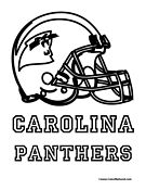 carolina panthers helmet coloring pages - photo#21