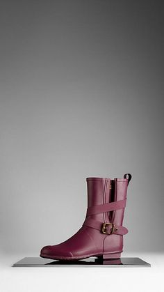 Belted Rain Boots | Burberry