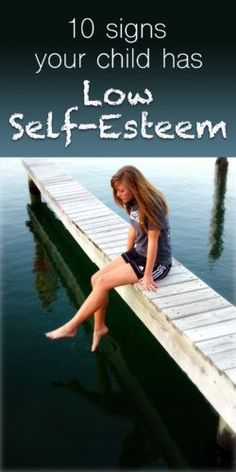 Family and parenting tips and advice. Ten warning signs for how to know if your child has low self-esteem. How to identify self esteem issues in kids and teens. Plus, 12 tips for building your child's self-esteem.
