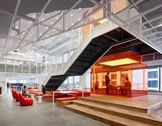 """""""GLG Austin"""" by Clive Wilkinson Architects."""