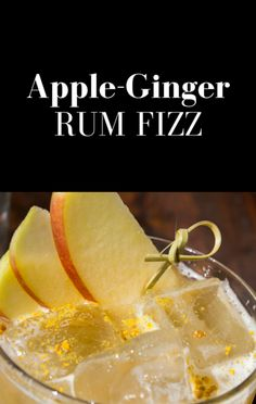 On The Chew, Clinton Kelly shared a recipe for adults, that can easily be made kid-friendly. This Apple-Ginger Rum Fizz cocktail is a must have at your next get together!