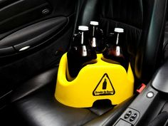 Growler On Board, A Car Seat For Your Beer Growlers