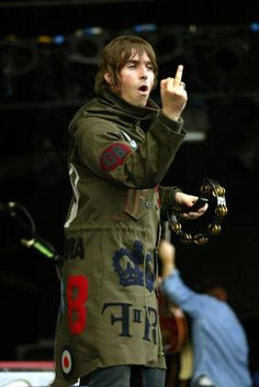 Liam Gallagher - Oasis, in Finsbury Park