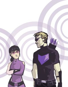 Hawkeyes by ComickerGirl (Inspired by the David Aja Run)