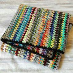 scrappy granny stripes
