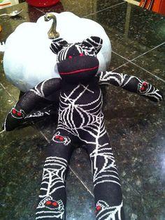 Spider the Sock Monkey