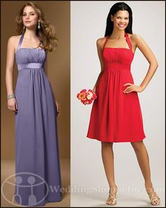 Alfred Angelo Bridesmaid Dresses:   Everybody Loves Alfred Angelo Dresses...Alfred Angelo 7016 and short style: Alfred Angelo 7016s