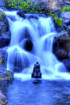 'Water Faerie' by EncinoMan.  Wailea, Maui, Hawaii.