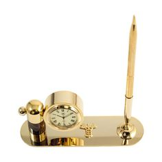 medical desktop clock and pen holder buygiftscom desktop clock cool gift ideas