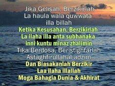 Zikir Harian Hijrah Islam, Doa Islam, Muslim Quotes, Islamic Quotes, Cool Words, Wise Words, Motivational Quotes, Inspirational Quotes, Learn Islam