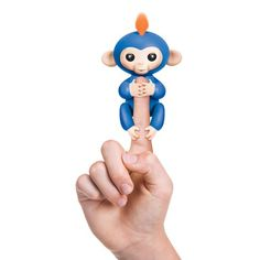 WowWee Fingerlings Blue Baby Monkey Boris is a blue monkey with crazy orange hair. Laughter is Boris's game. The Fingerlings Baby Monkeys come to life with over 50 animations to let you know how they feel. Your little one will fall in love with these sweet and sometimes silly critters with their realistic monkey sounds, …