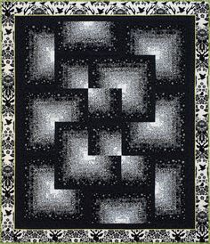Out of the Shadows quilt pattern by Emma How | Sampaguita Quilts