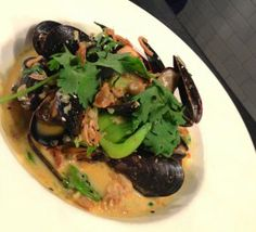 Recipe for Thai-style mussels with lemongrass - Jared Koch and Lisa Silverman Hough at Food Republic