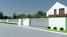 Formularz zamówienia projektu typowego Solid Grey   Xcel - Xcel House Gate Design, Garage Doors, Grey, Outdoor Decor, Home Decor, Ash, Homemade Home Decor, Gray, Decoration Home