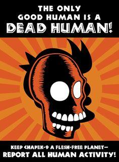 futurama poster propagande 2 Affiches de propagande Futurama  bonus