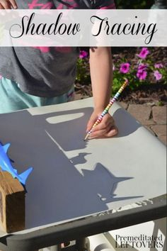 Groundhog Day is a great day to learn all about shadows! Check out this fun art project!
