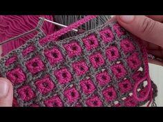 Freeform Crochet, Easy Crochet, Free Crochet, Knitting Patterns, Crochet Patterns, Crochet Stitches Free, Crochet Coat, Crochet Videos, Crochet Projects