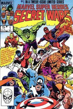Marvel Super Heroes Secret Wars Vol1 1 (1984) | Secret Wars | Major EVENTS of the Marvel UNIVERSE