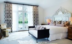 Get inspired by Eclectic Bedroom Design photo by Chango & Co. Wayfair lets you find the designer products in the photo and get ideas from thousands of other Eclectic Bedroom Design photos. Contemporary Bedroom, Furniture, Master Bedrooms Decor, Bed Headboard Design, Eclectic Bedroom Design, Interior Design, Home Decor, Bedroom Furniture, Luxury Interior Design