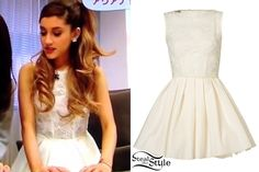 ariana grande steal her style | Ariana Grande in an interview in Japan – video: youtube
