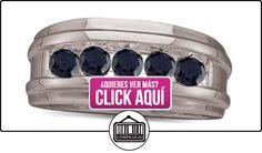 Anillo de los hombres del diamante negro 52CTW 10 K 0.oro blanco anillo de bodas GND80966  ✿ Joyas para hombres especiales - lujo ✿ ▬► Ver oferta: https://comprar.io/goto/B00DIHA9JE