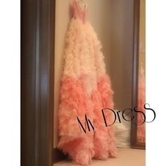 #mydress #マイドレス#カラードレス#もしゃもしゃ〜#ピンクドレス#プレ花嫁#トリートドレッシング#リーフフォーブライズ